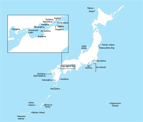 islands  japan