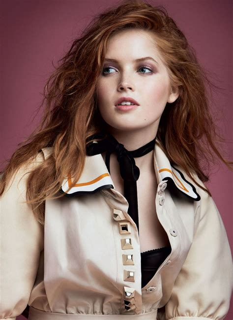 Ellie Bamber In Vogue Magazine December Issue Hawtcelebs Hawtcelebs