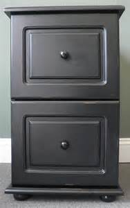 Black Wooden File Cabinet by Black Wood Distressed 2 Drawer File Cabinet 104 39 Overstock