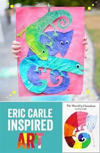 Eric carle, Chameleons and So in love on Pinterest