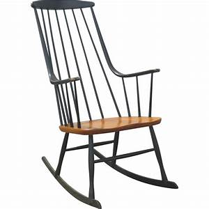 Chaise Scandinave A Bascule : chaise bascule vintage scandinave grandessa lena larsson 1950 design market ~ Teatrodelosmanantiales.com Idées de Décoration
