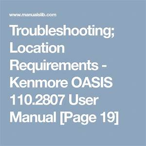 Troubleshooting  Location Requirements