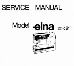Elna Stella Air Electronic Sewing Machine Manual