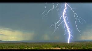 Arizona Aerial Video--Desert Lightning Storm!! - YouTube