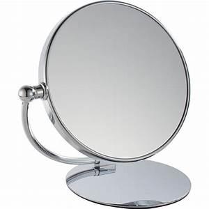 Miroir Grossissant X10 : miroir rond pas cher ~ Carolinahurricanesstore.com Idées de Décoration