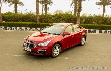 2016 Chevrolet Cruze Facelift Launched At Rs. 14.81 Lakhs