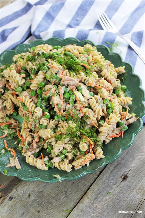 salade de pates thon salade de p 226 tes au thon kedny cuisine