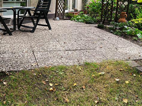 terrassenplatten reinigen mit soda terrasse reinigen mit soda 32 abholung pflastersteine