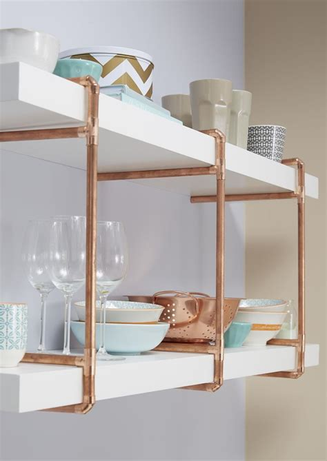 rustic brass shelf the 25 best copper kitchen accessories ideas on