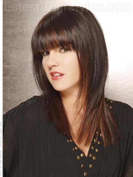 Hairstyles For With Fringe by Fringe Hairstyles