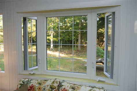 Kitchen Bay Window Treatment Ideas - vinyl replacement windows american window industries