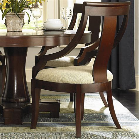 fredrick cherry finish dining chair dining chairs