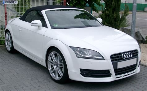 Audi Tt Roadster Technical Details History Photos On
