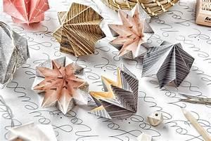 Origami Boule De Noel : ddkb 7 la guirlande de no l en origami kesi 39 art le blog ~ Farleysfitness.com Idées de Décoration
