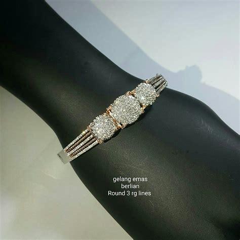 pin oleh toko perhiasan emas berlian di aneka gelang emas