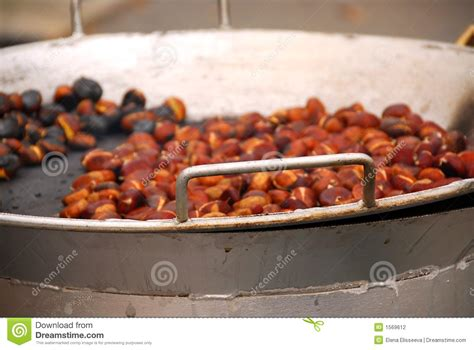 Roasting Chestnuts Stock Photography  Image 1569612