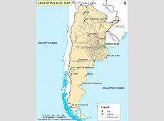Argentina Railway Map