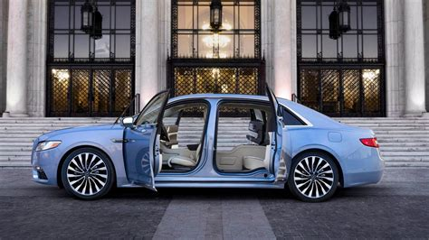 Lincoln Revives 'suicide Doors' On 2019 Continental