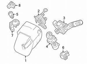 Ford Taurus X Steering Column Lock  2009