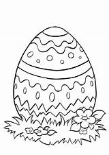 Easter Egg Coloring Pages Print Printable sketch template