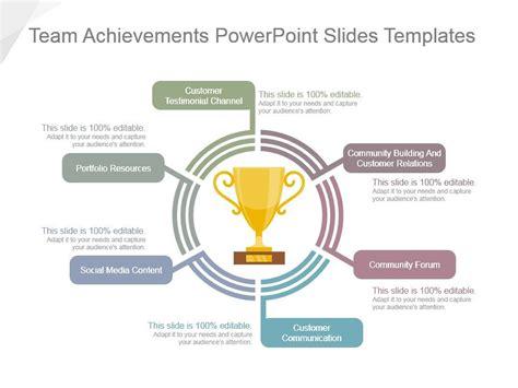 team achievements powerpoint  templates powerpoint