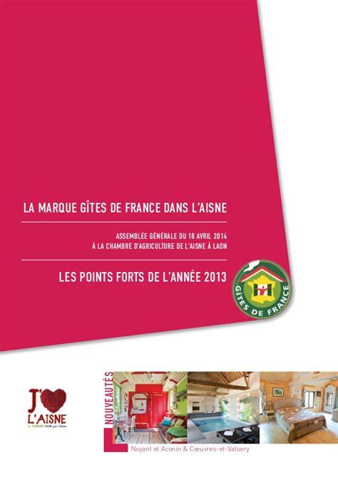chambre agriculture de l aisne rapport d 39 activités gîtes de aisne 2013