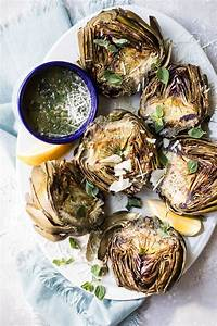 grilled artichokes with garlic parmesan butter recipe