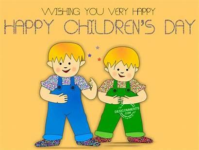Animated Happy Children Childrens Very 3d Wishing