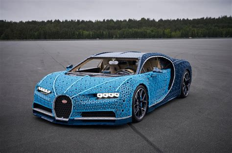Behold, the biggest toy car on earth: Full-scale, moving Bugatti Chiron made from Lego revealed   Autocar