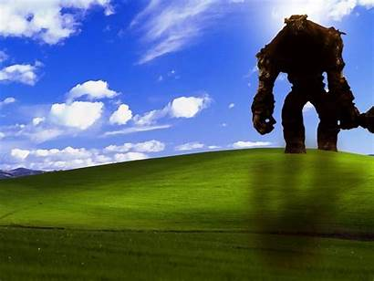 Xp Windows Colossus Shadow Wallpapers Games Background