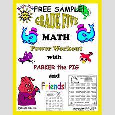 Grade 5 Math Power Workout  Free Sample