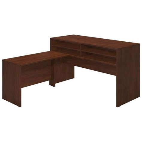 mini hutch for desk bush sre061 l shaped desk with mini hutch