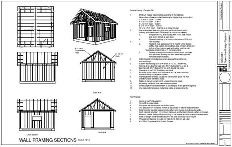 10x20 Storage Shed Plans Free by 10 X 20 Shed Plans Free Wooden Shed Plans Shed