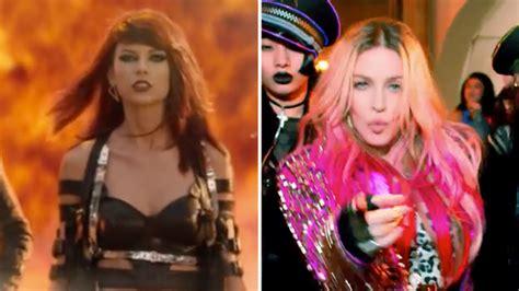 Taylor Swift Vs Madonna: Battle Of The Celebrity Music ...