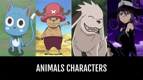 animals characters anime planet