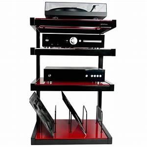 Meuble Pour Vinyle : norstone esse hi fi vinyl meuble hi fi ~ Teatrodelosmanantiales.com Idées de Décoration