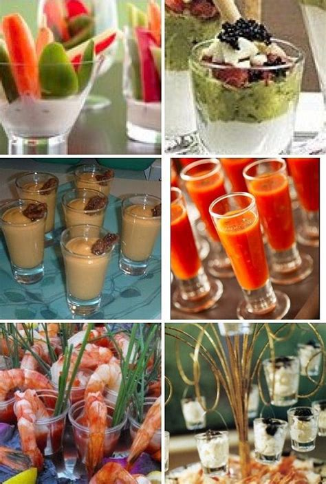 images  shot glass creations appetizer hors