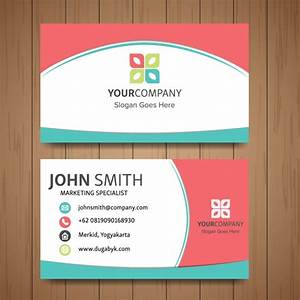 Cute business card vector free download for Cute business cards templates free