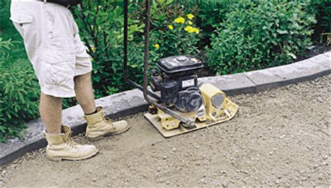 excavating building a base landscape supply