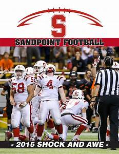 September 2015 Sandpoint High School Football Program by ...