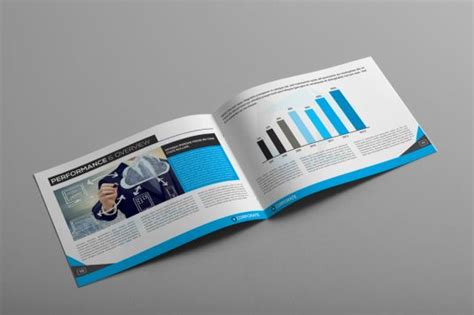 design professional corporate business brochure booklet