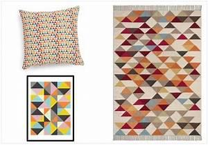 Tapis Scandinave Maison Du Monde : la d co motif triangle a toujours la cote joli place ~ Nature-et-papiers.com Idées de Décoration