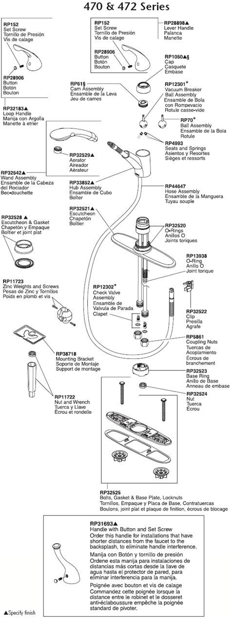 delta leland kitchen faucet parts wow blog
