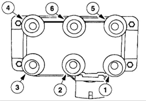 Ford Explorer Spark Plug Wires Diagram