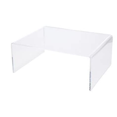 clear acrylic lap desk x large desk riser acrylic clear officeworks