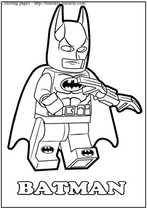 Free Lego Coloring Pages Lego Batman Coloring Pages To Print Coloring Page
