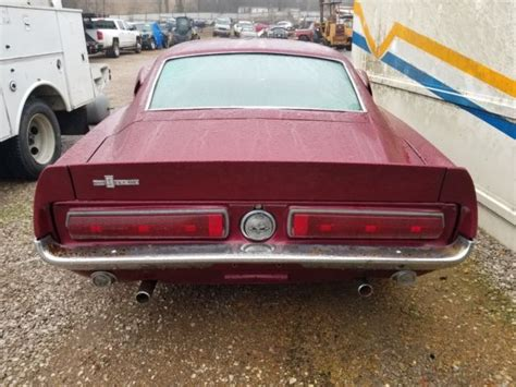 1968 Ford Mustang Fastback Shelby Gt500 67- No Reserve -ky