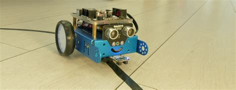 This robot can run on the black and white lines. XOD powered line follower mBot. In the previous article ...