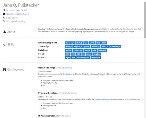 github aruberto fresh theme bootstrap responsive resume