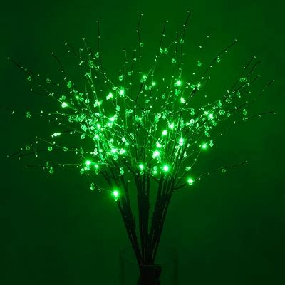 Light Up Branches by Led Light Up Branches Green From Paperlanternstore At